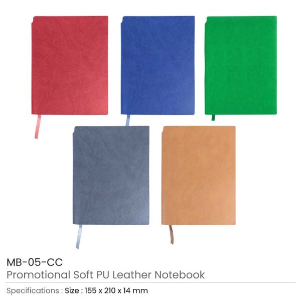 Promotional PU Leather Notebooks