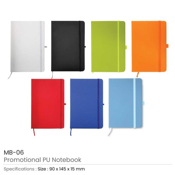 Promotional A6 Size PU Leather Notebook