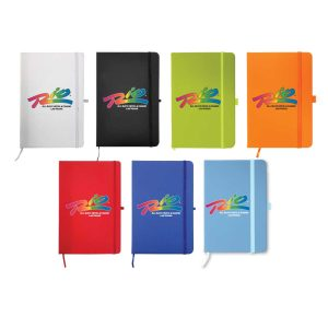 Branding A6 Size PU Leather Notebook
