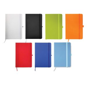 A6 Size PU Leather Notebook
