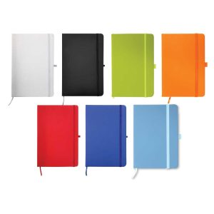 A5 Sized PU Leather Customized Notebook MB-05