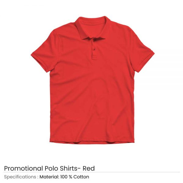 Polo T-shirts Red