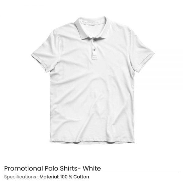 Polo T-shirts White