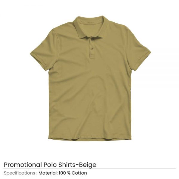 Polo T-shirts Beige