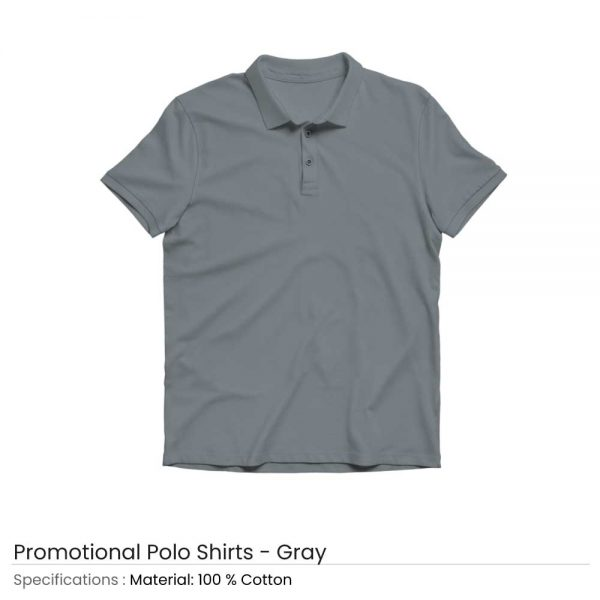 Polo T-shirts Grey