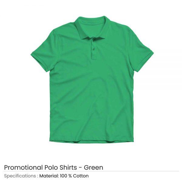 Polo T-shirts Green