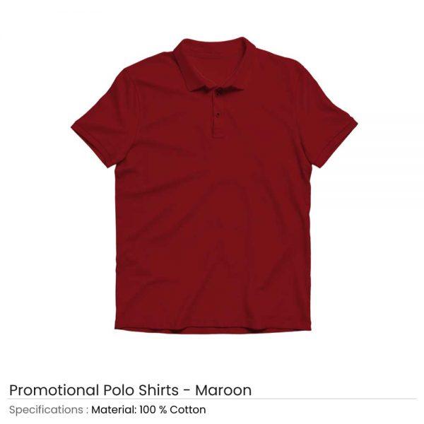 Polo T-shirts Maroon