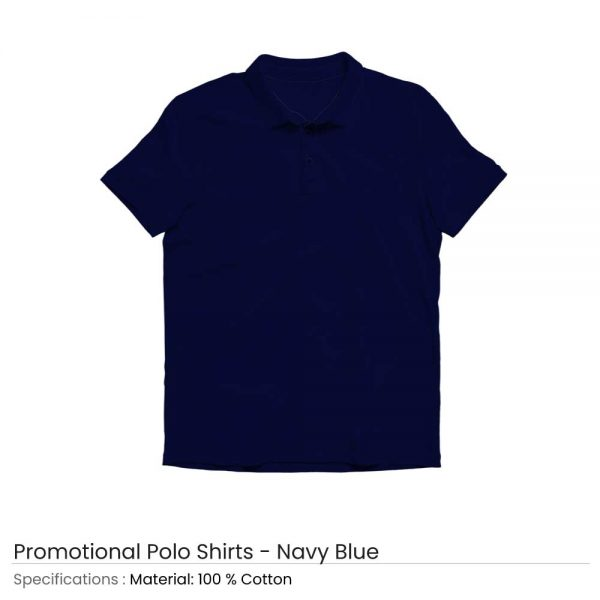 Polo T-shirts Navy Blue