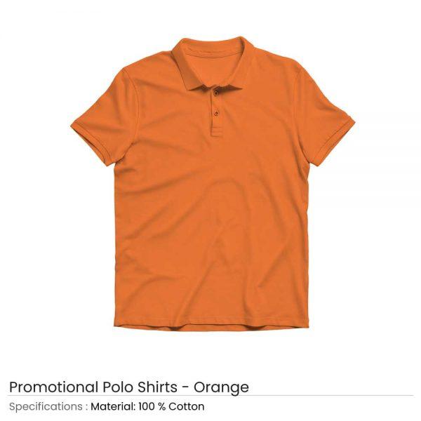 Polo T-shirts Orange