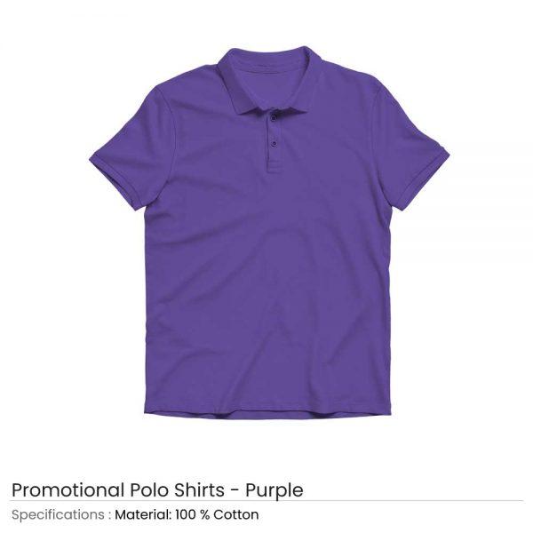 Polo T-shirts Purple