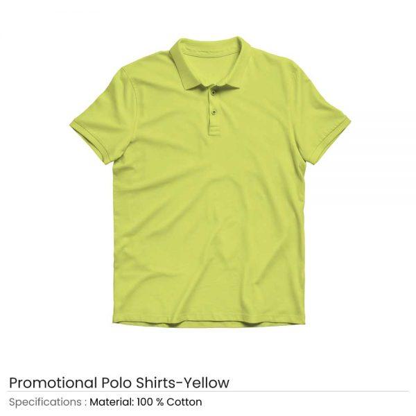 Polo T-shirts Yellow