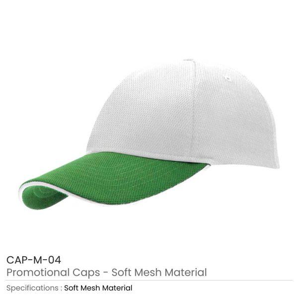 Cotton Caps Green