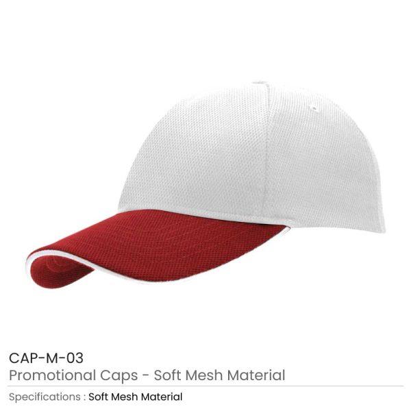 Cotton Caps Red