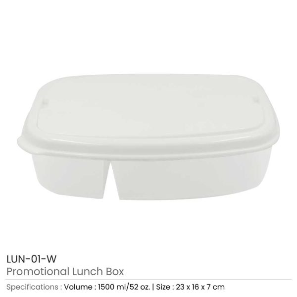 Promotional Lunch Box LUN-01-W