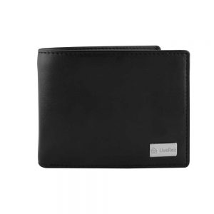 RFID Protected BI-Fold Coin Wallet