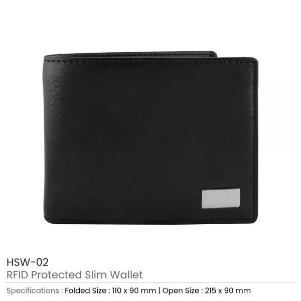RFID Protected Slim Wallet