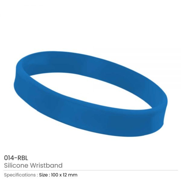 Silicone Wristbands Royal Blue