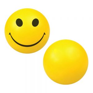 Smiley Face Anti Stress Balls