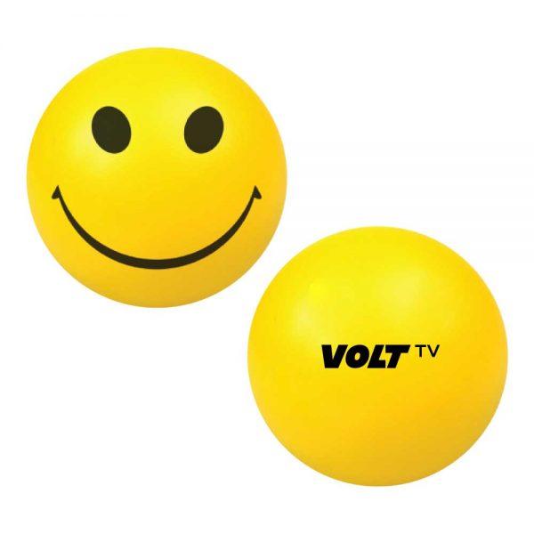 Branding Smiley Face Anti Stress Balls