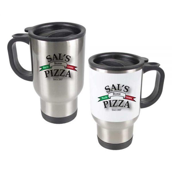 Branding Stainless Steel Mugs