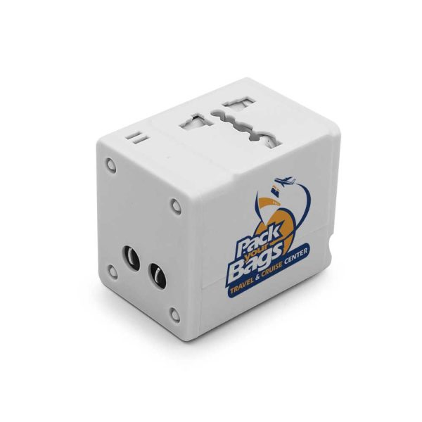 Branding Travel Adapters JU-TA-001-W