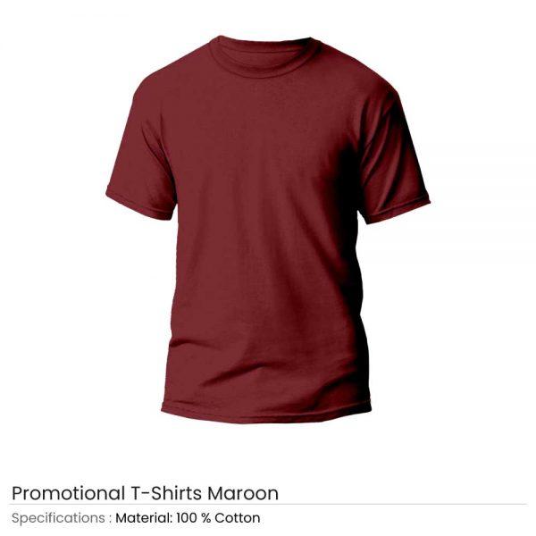 T-Shirts Maroon