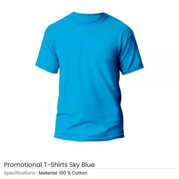 T-Shirts Sky Blue