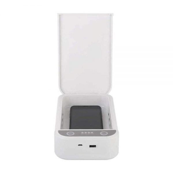 UV Sterilization Box with Wireless Charging