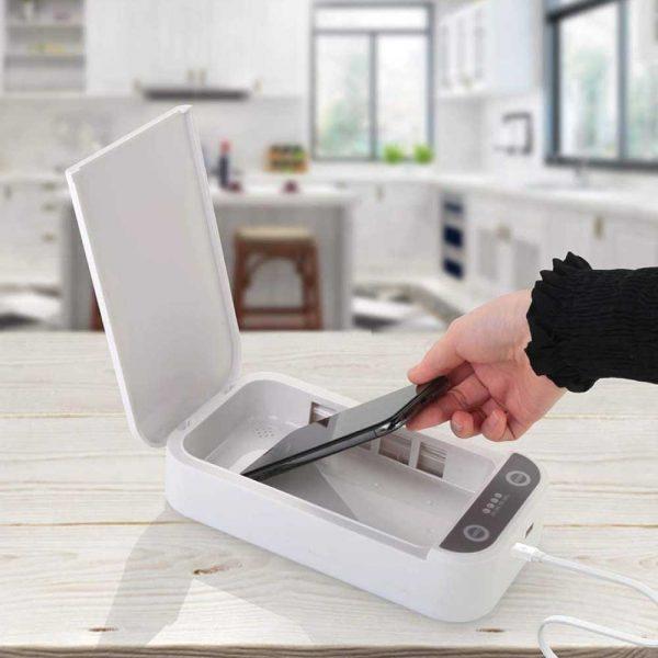 UV Sterilization Box Wireless Charging