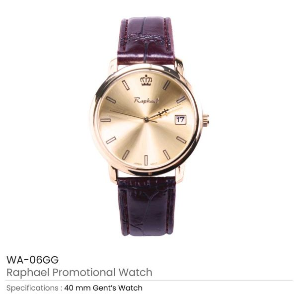 Gents Watches Gold