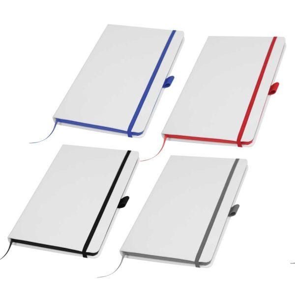 White PU Leather Notebooks