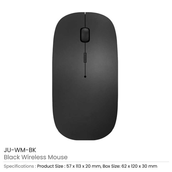 Wireless Mouse 2.4G JU-WM-BK