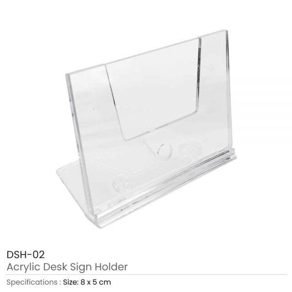 Desk Sign Holder