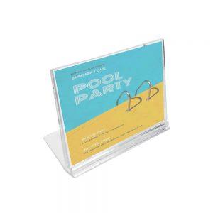 Acrylic Desk Sign Holder