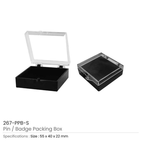 Pin Badge Packaging Box Medium