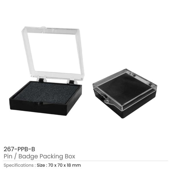 Pin Badge Packaging Box Large
