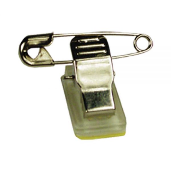 Badge Clip with Pin for Badges