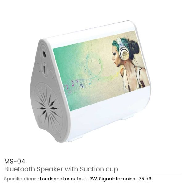 Bluetooth Speaker with Suction Cup MS-04