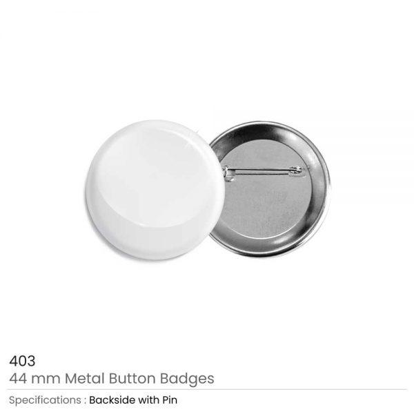 Button Badges 44 mm