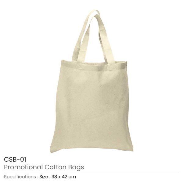 Cotton Bags Beige