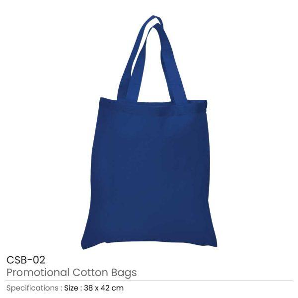 Cotton Bags Blue