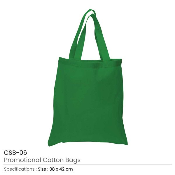 Cotton Bags Green