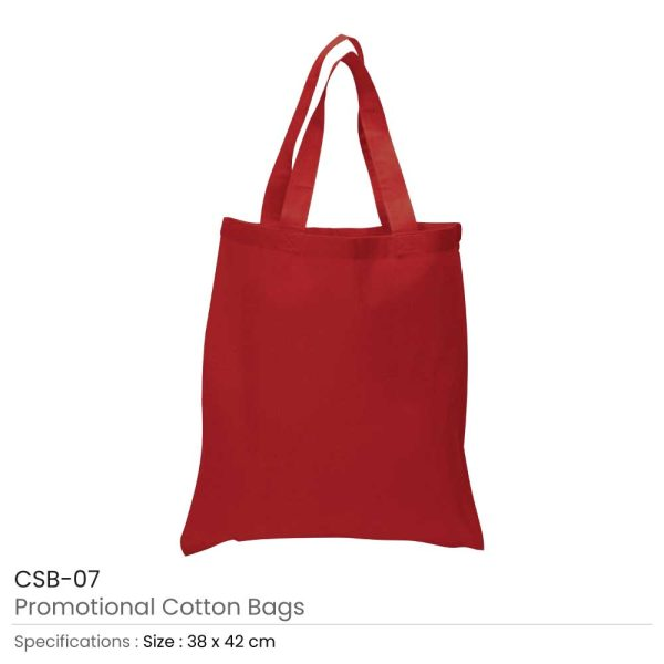 Cotton Bags Red