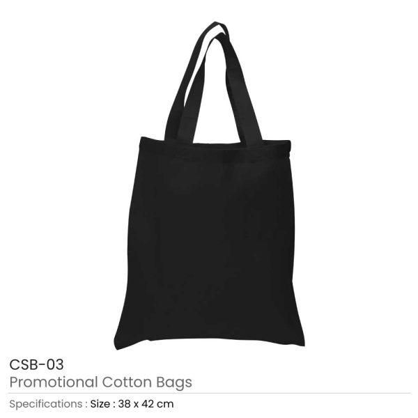 Cotton Bags Black