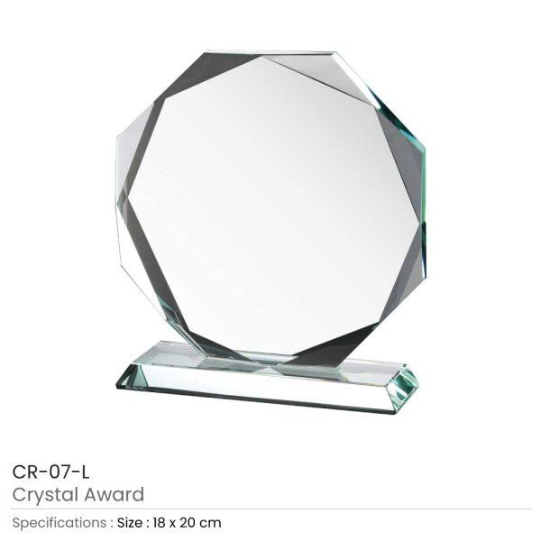 Large Crystal Awards CR-07
