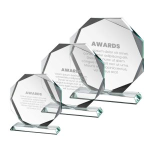 Engraved Crystal Awards CR-07