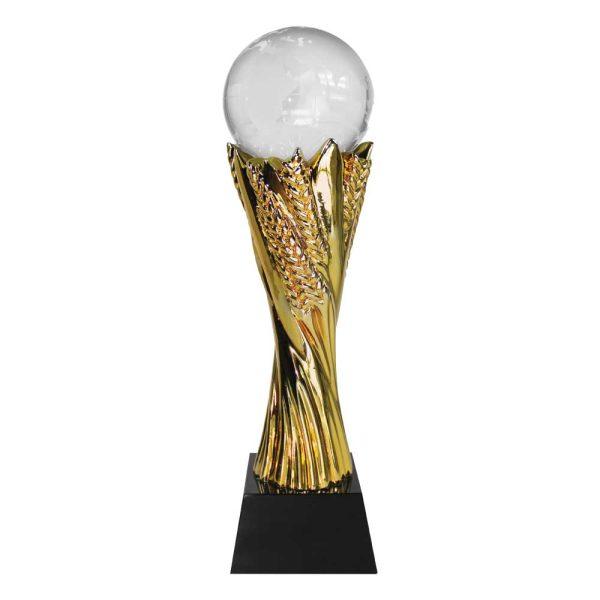 Crystal Globe Trophy with Box