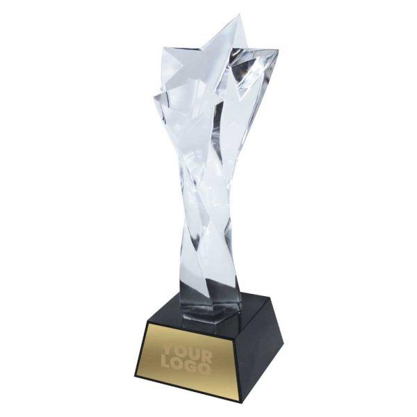Imprint Crystal Star Trophy
