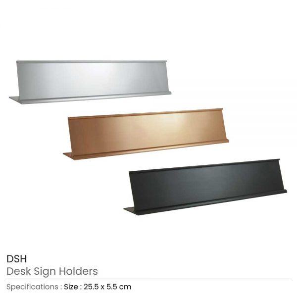 Desk Sign Holders