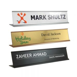 Desk Sign Holders Printing